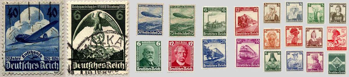 Почтовые марки. Карл Дибич