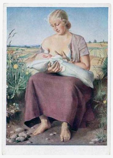 Карл Дибич. Мать