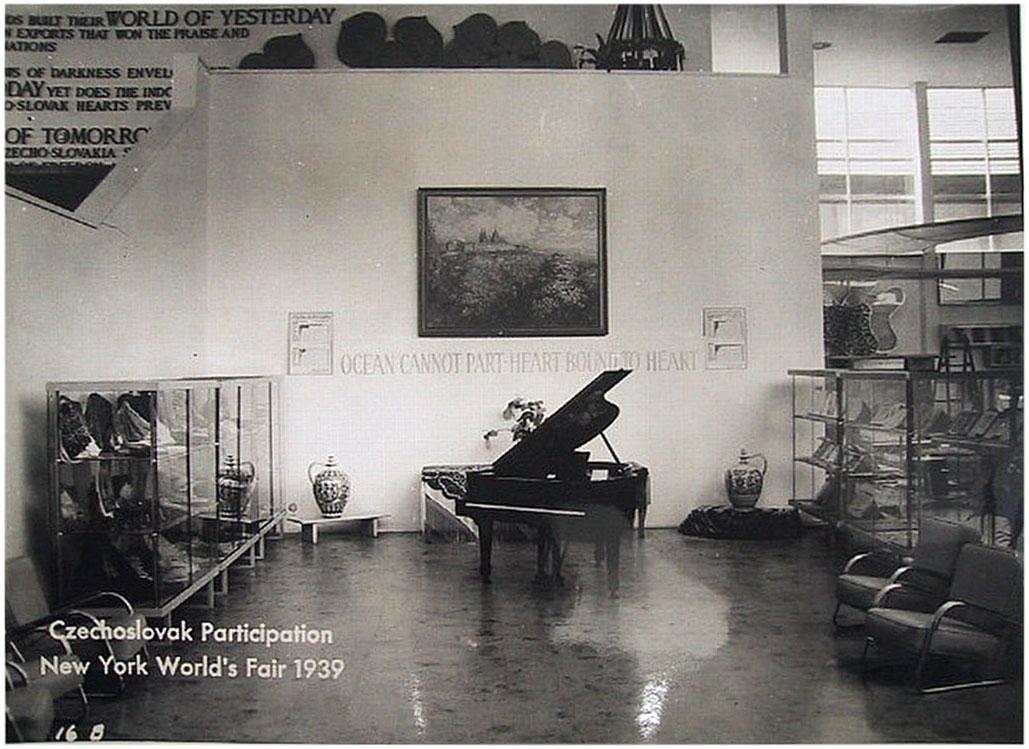 Павильон Чехословакии</br>на выставке в Нью-Йорке, 1939 год
