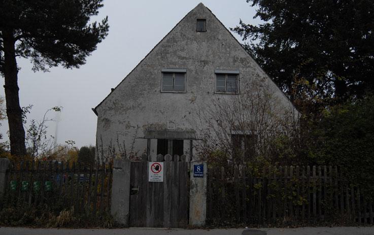 Allach, здание бывшей фарфоровой фабрики, ноябрь 2011